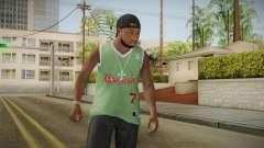 Grove Street Families Remastered Skin 3 для GTA San Andreas