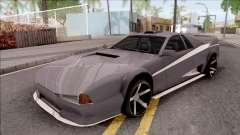 BlueRay Cheetah VX для GTA San Andreas