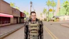Дегтярёв в бронежилете из S.T.A.L.K.E.R. для GTA San Andreas