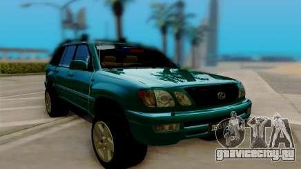 Lexus LX470 FBI для GTA San Andreas