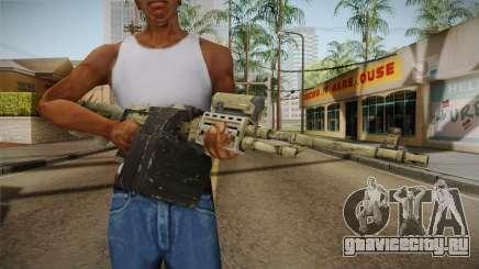 GTA 5 Camo Light Machine Gun для GTA San Andreas