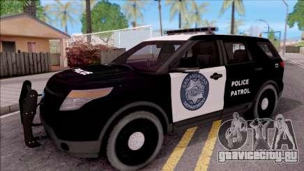 Ford Explorer Police San Andreas Patrol для GTA San Andreas