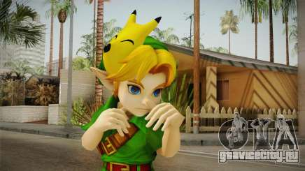 Hyrule Warriors - Young Link Skin для GTA San Andreas