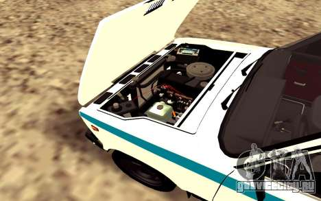 VAZ 2107 GVR V2 для GTA San Andreas вид сзади