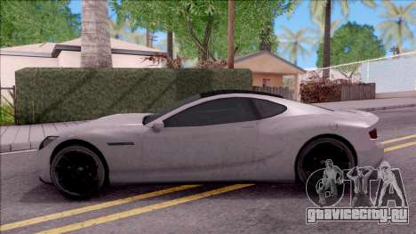 GTA V Hijak Khamelion для GTA San Andreas вид слева