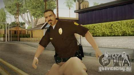 Iowa State Patrol Trooper Skin для GTA San Andreas
