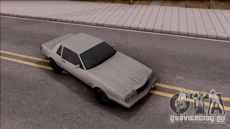 GTA IV Declasse Sabre для GTA San Andreas вид справа