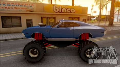 Chevrolet Chevelle SS 1972 Monster Truck для GTA San Andreas вид слева