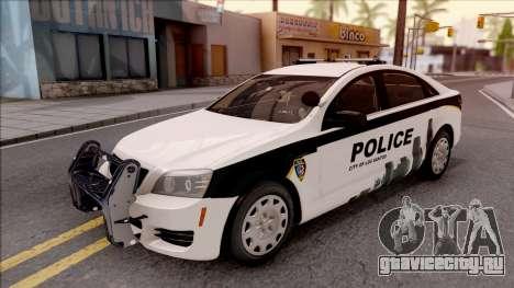 Chevrolet Caprice 2013 Los Santos PD v2 для GTA San Andreas