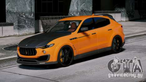 Maserati Levante Mansory для GTA 5 вид слева