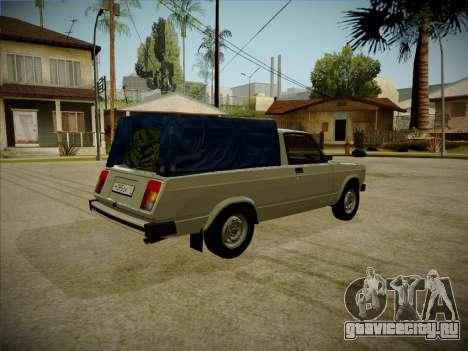 ВАЗ 2104 Пикап V2 для GTA San Andreas