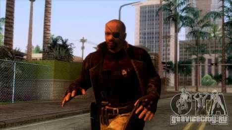 Marvel Heroes - Nick Fury Ultimate для GTA San Andreas