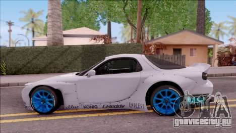 Mazda RX-7 Rocket Bunny для GTA San Andreas вид слева