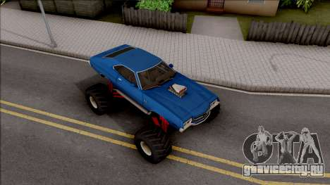Chevrolet Chevelle SS 1972 Monster Truck для GTA San Andreas вид справа