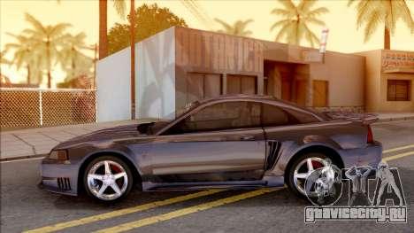 Ford Mustang Saleen 2000 IVF для GTA San Andreas вид слева