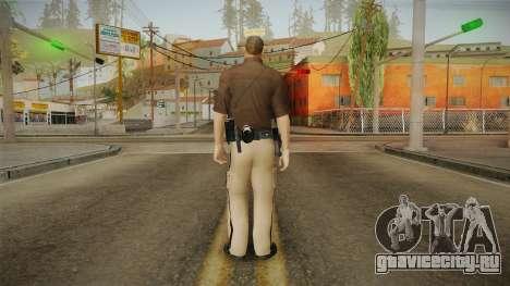 Iowa State Patrol Trooper Skin для GTA San Andreas третий скриншот