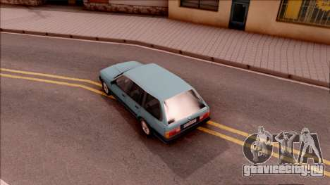 BMW 325i E30 Touring для GTA San Andreas вид сзади