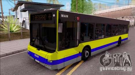 MAN Lions City GSP BEOGRAD для GTA San Andreas