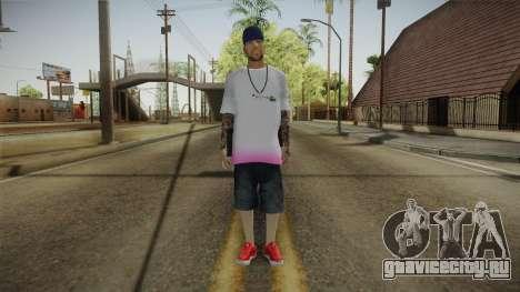 New Thug Skin для GTA San Andreas второй скриншот