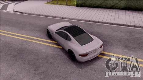 GTA V Hijak Khamelion для GTA San Andreas вид сзади