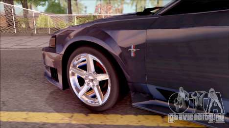 Ford Mustang Saleen 2000 IVF для GTA San Andreas вид изнутри