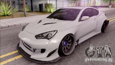 Hyundai Genesis Coupe 3.8 2013 Rocket Bunny для GTA San Andreas