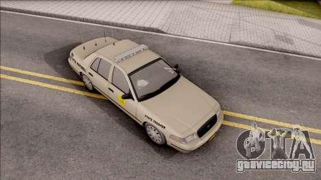 Ford Crown Victoria 2005 Iowa State Patrol для GTA San Andreas вид справа