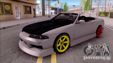 Nissan Skyline R33 Cabrio Drift Monster Energy для GTA San Andreas