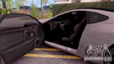 GTA V Hijak Khamelion для GTA San Andreas вид изнутри