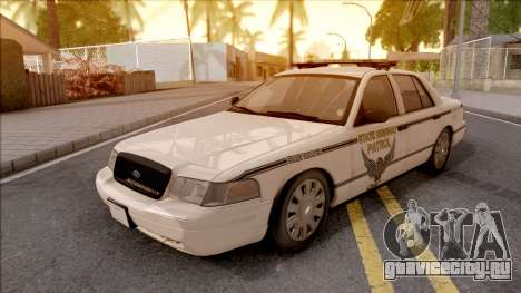 Ford Crown Victoria 2010 OS Highway Patrol для GTA San Andreas