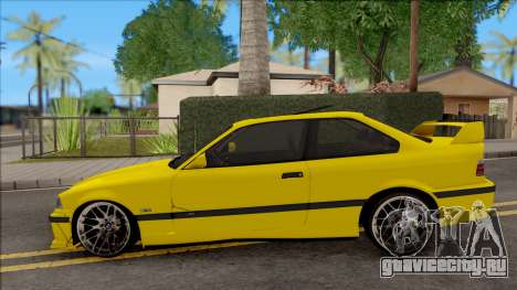 BMW M3 E36 BKworks для GTA San Andreas вид слева