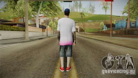 New Thug Skin для GTA San Andreas третий скриншот