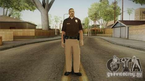 Iowa State Patrol Trooper Skin для GTA San Andreas второй скриншот