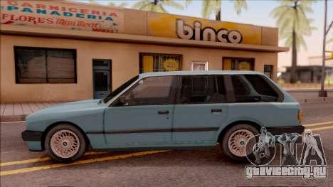 BMW 325i E30 Touring для GTA San Andreas вид слева