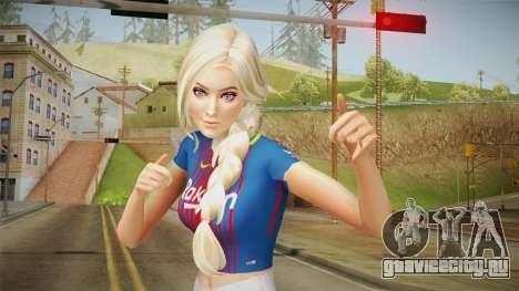 The Sims 4 - Girl FCB для GTA San Andreas