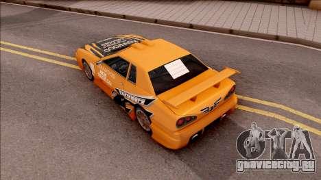 Eddie NFS Underground Paintjob For Elegy для GTA San Andreas вид сзади