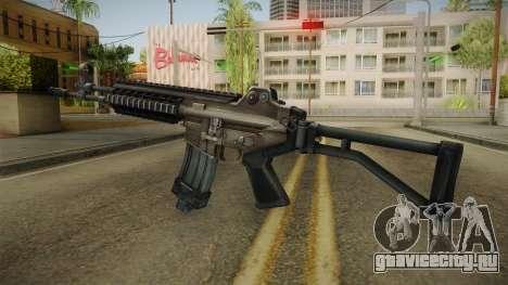 Daewoo DR-200 Assault Rifle для GTA San Andreas второй скриншот
