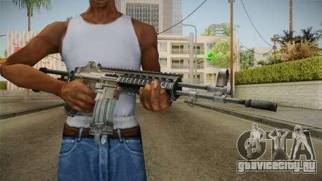 Daewoo DR-200 Assault Rifle для GTA San Andreas третий скриншот