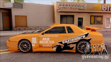 Eddie NFS Underground Paintjob For Elegy для GTA San Andreas вид слева