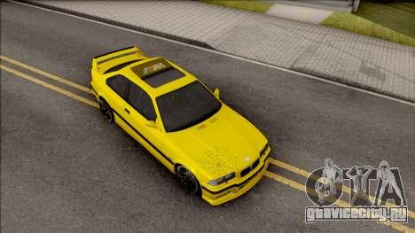 BMW M3 E36 BKworks для GTA San Andreas вид справа
