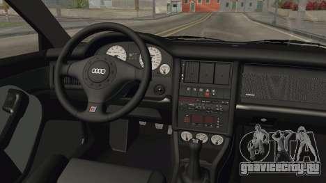 Audi RS2 Avant 1995 для GTA San Andreas вид изнутри