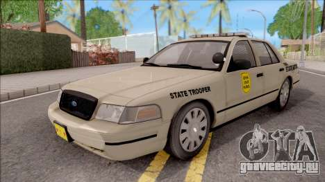 Ford Crown Victoria 2005 Iowa State Patrol для GTA San Andreas