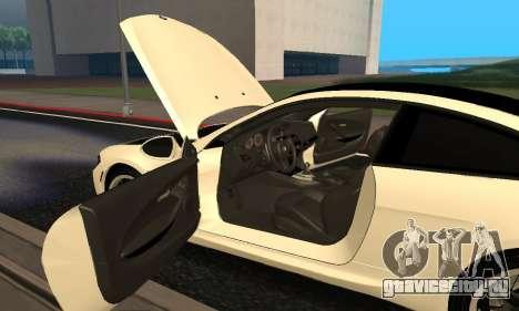 BMW M6 E63 Armenian для GTA San Andreas вид сверху