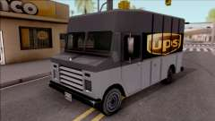 UPS Van для GTA San Andreas