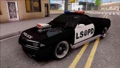 Nissan Skyline R32 Pickup Police LSPD для GTA San Andreas