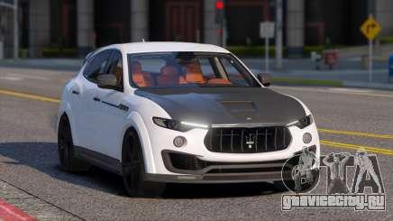 Maserati Levante Mansory для GTA 5