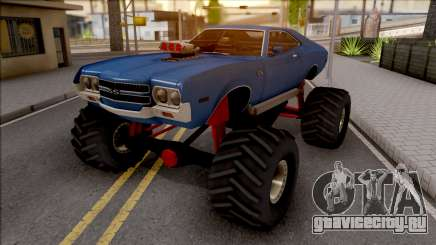 Chevrolet Chevelle SS 1972 Monster Truck для GTA San Andreas