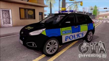 Hyundai IX35 2012 U.K Police для GTA San Andreas