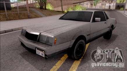 GTA IV Declasse Sabre для GTA San Andreas