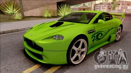 Aston Martin V8 Vantage Tuning Sin Sonido для GTA San Andreas